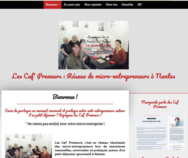 Caf' Preneurs à Nantes (micro-entrepreneur)