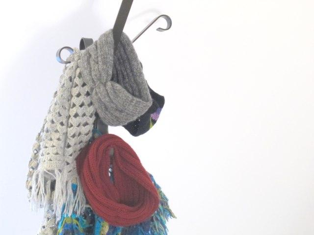 bufandas tricot DIY