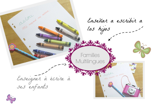 familias multilingües: enseñar a escribir a los hijos