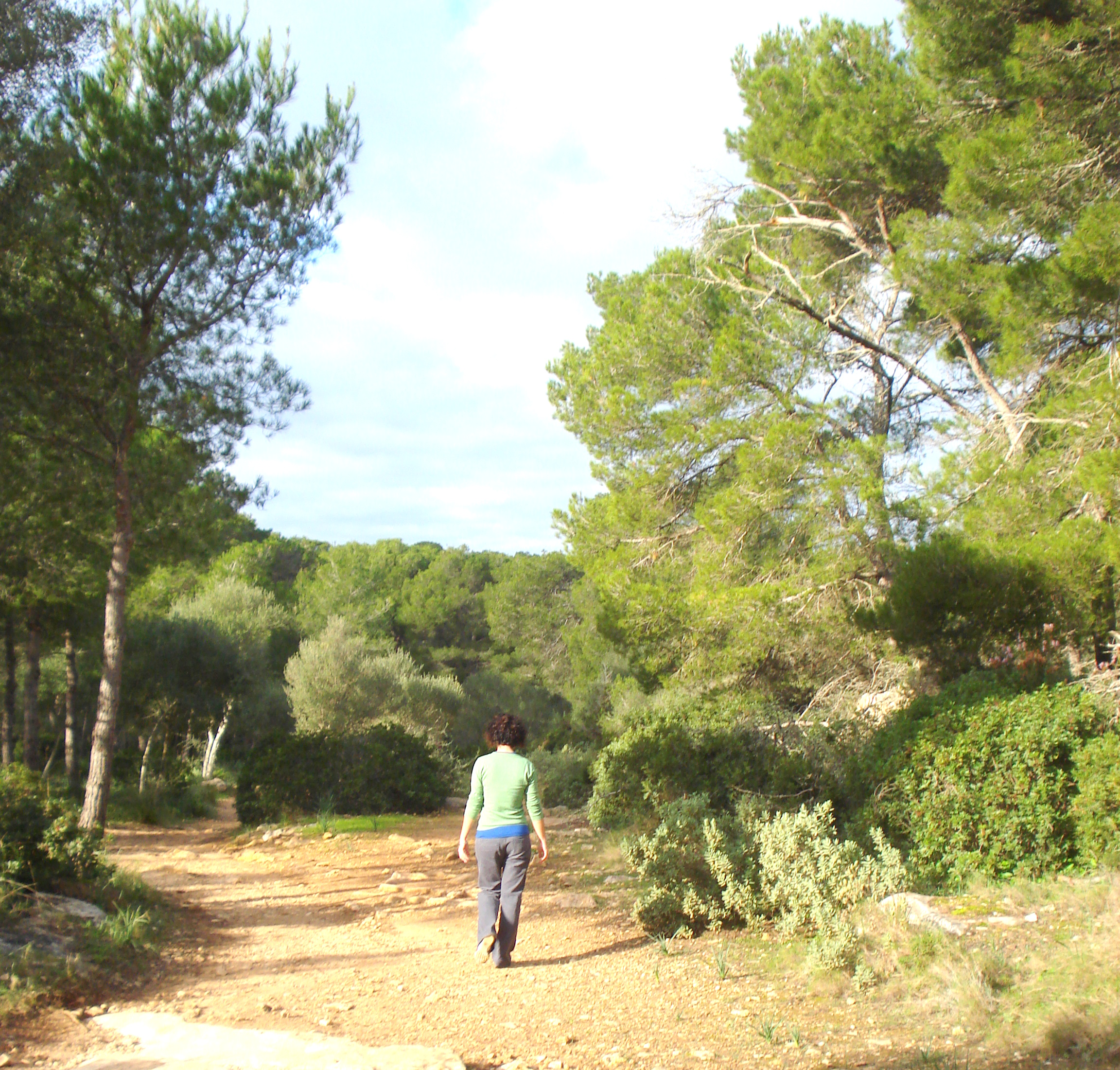 Chemin à Minorque