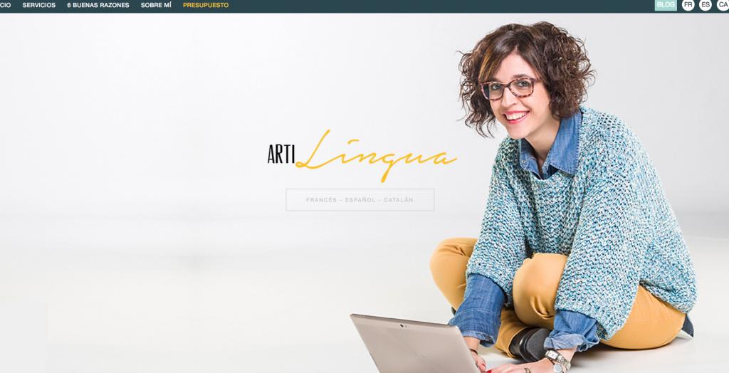 Artilingua, traducción, redacción, community management: francés, español, catalán