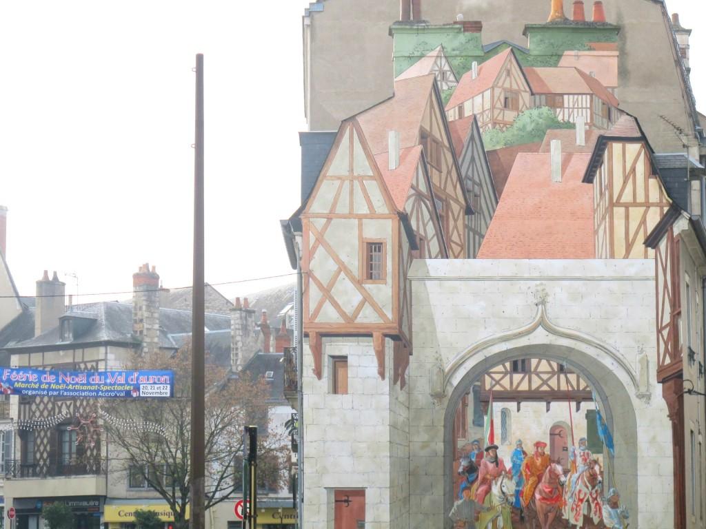 La ciudad de Bourges en Francia