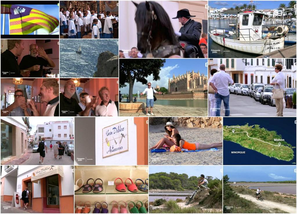 Illes Balears a la televisió francesa. Echappées Belles France 5