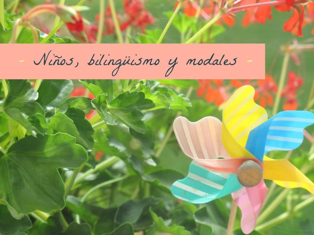 niños bilingüisme y modales