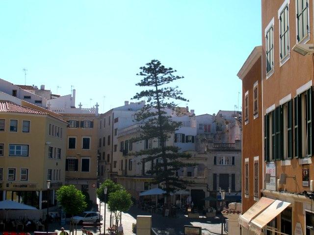 Maó - Mahón en la isla de Menorca