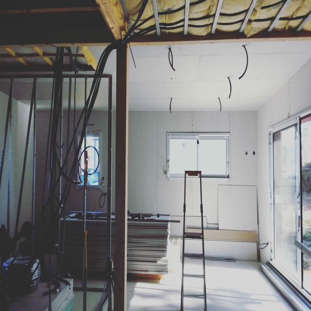 casa armazón madera